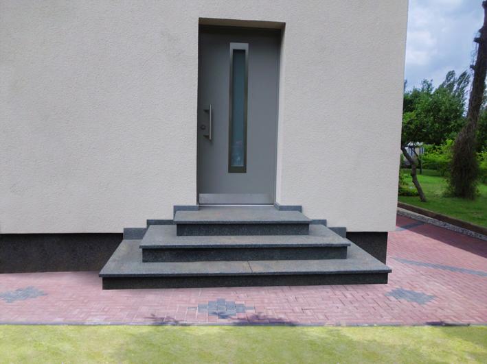 FIMEXO Außentreppen Aussen-Treppen - Rechteck