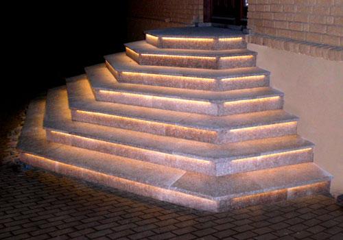 Außentreppen Beleuchtung | Fimexo Aussentreppen Aussen Treppen Trapez